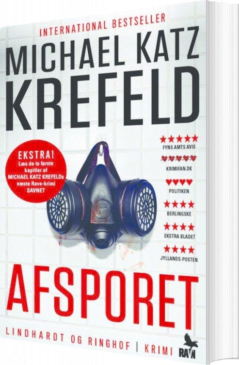 Image of   Afsporet - Ravn Serien Nr. 1 - Michael Katz Krefeld - Bog