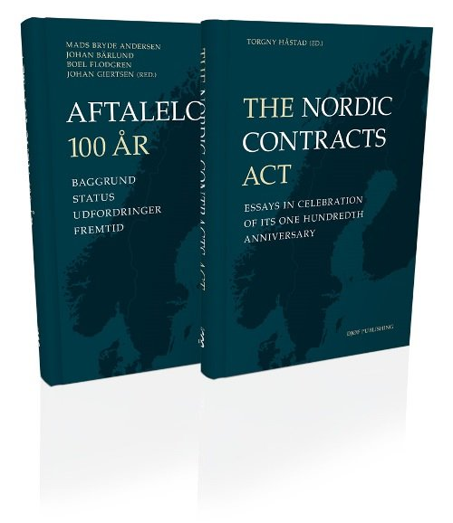Image of   Aftaleloven 100 år & The Nordic Contracts Acts - Mads - Bog