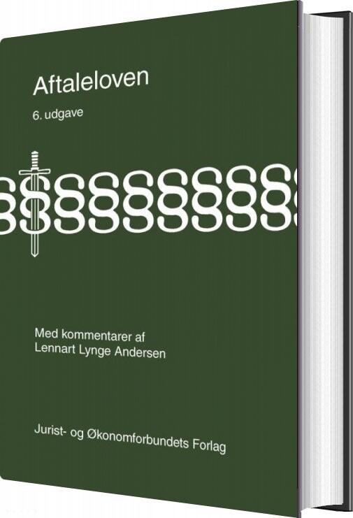 Image of   Aftaleloven Med Kommentarer - Lennart Lynge Andersen - Bog