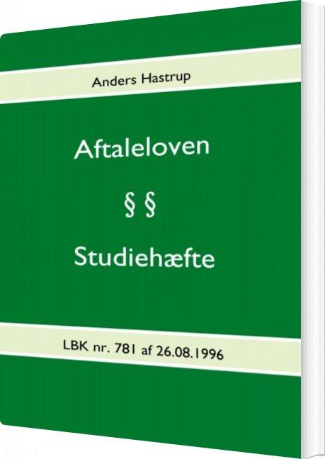 Image of   Aftaleloven - Anders Hastrup - Bog