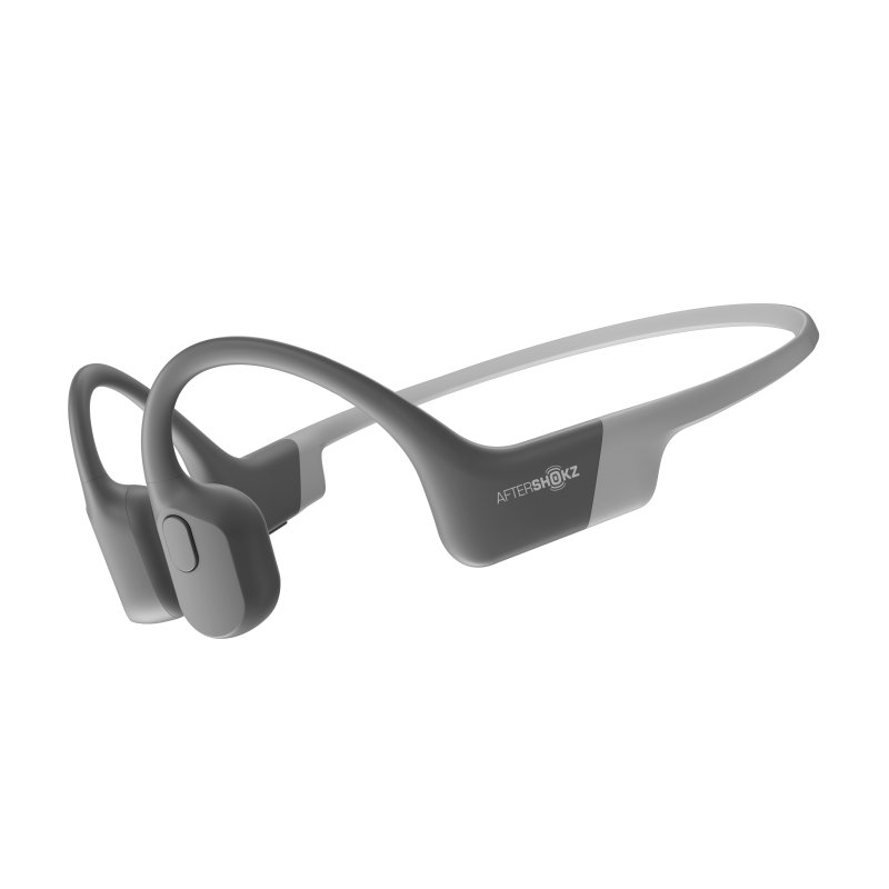 Image of   Aftershokz Aeropex - Trådløs Boneconduction Høretelefoner - Grå
