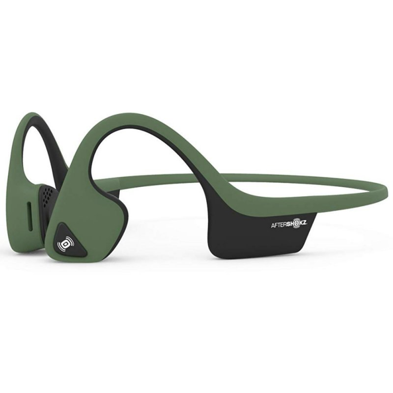 Image of   Aftershokz Trekz Air - Bone-conduction Høretelefoner - Grøn