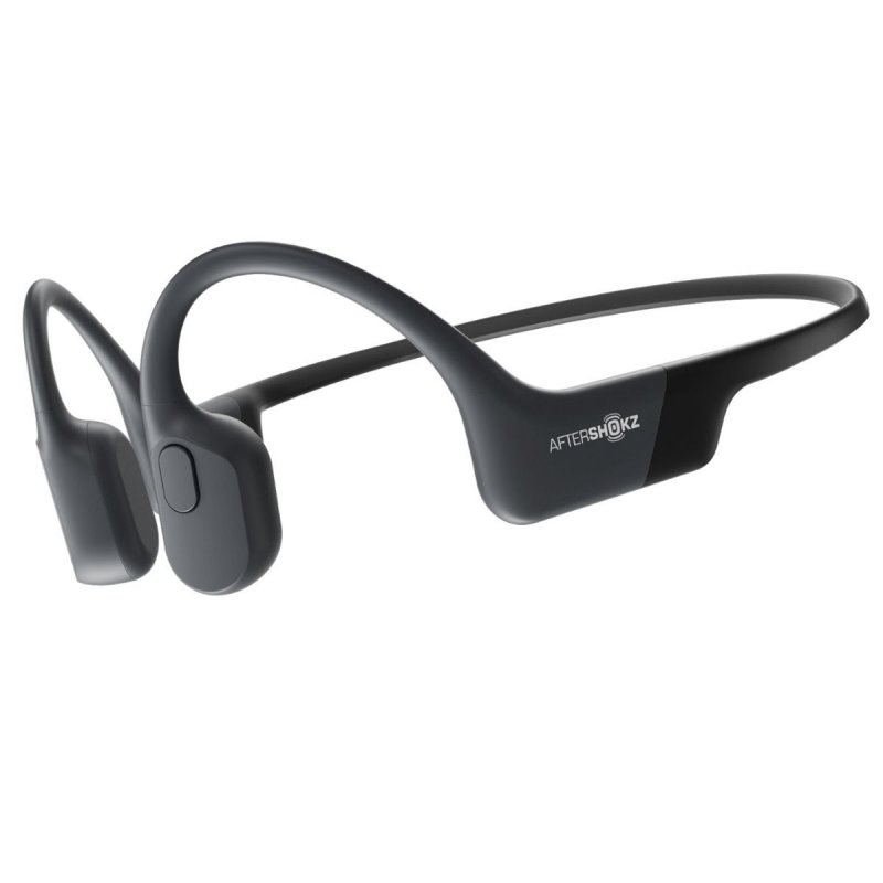 Image of   Aftershokz Trekz Air - Bone-conduction Høretelefoner - Grå