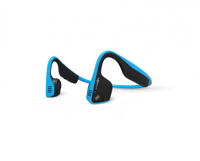 Image of   Aftershokz - Trekz Titanium - Trådløs Bone Conduction Høretelefoner - Blå