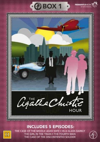 Image of   Agatha Christie Hour - Boks 1 - DVD - Tv-serie
