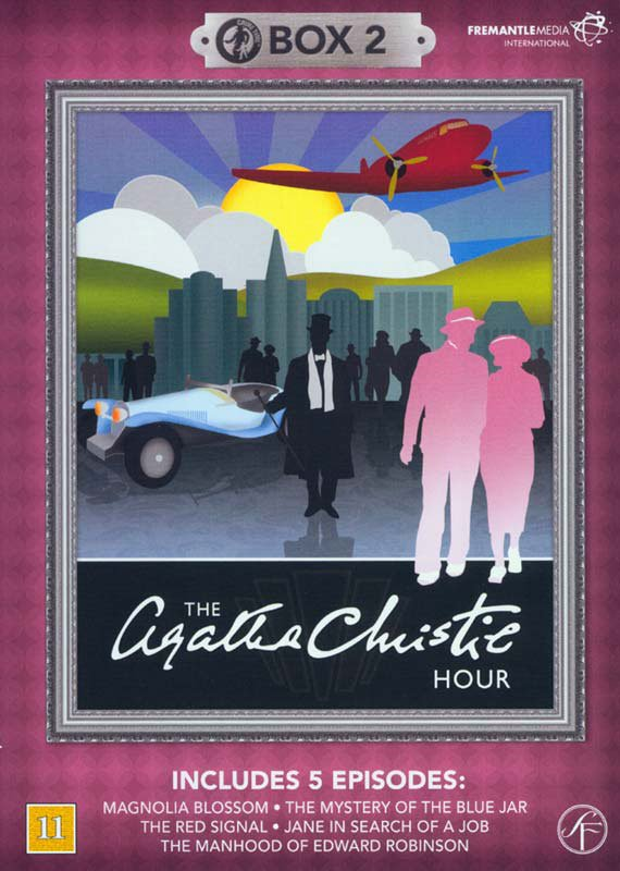 Image of   Agatha Christie Hour - Boks 2 - DVD - Tv-serie