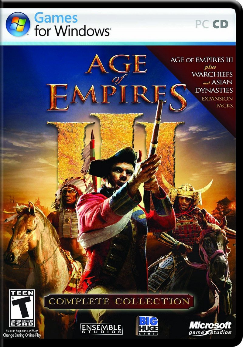 Image of   Age Of Empires 3 Complete - PC
