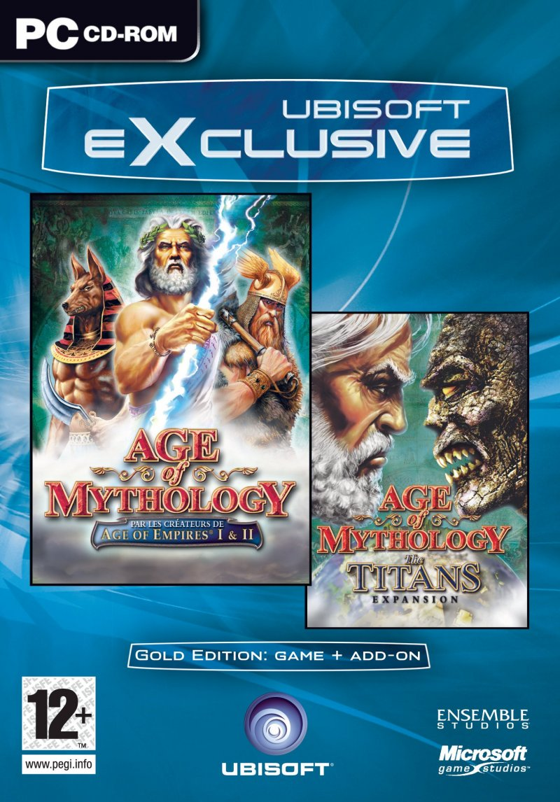 Image of   Age Of Mythology Gold (incl. Titans ) (exclusive) - PC