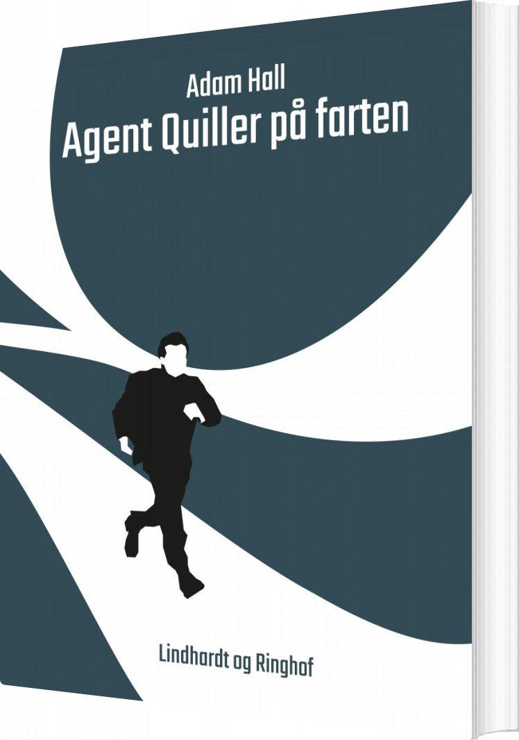 Billede af Agent Quiller På Farten - Adam Hall - Bog