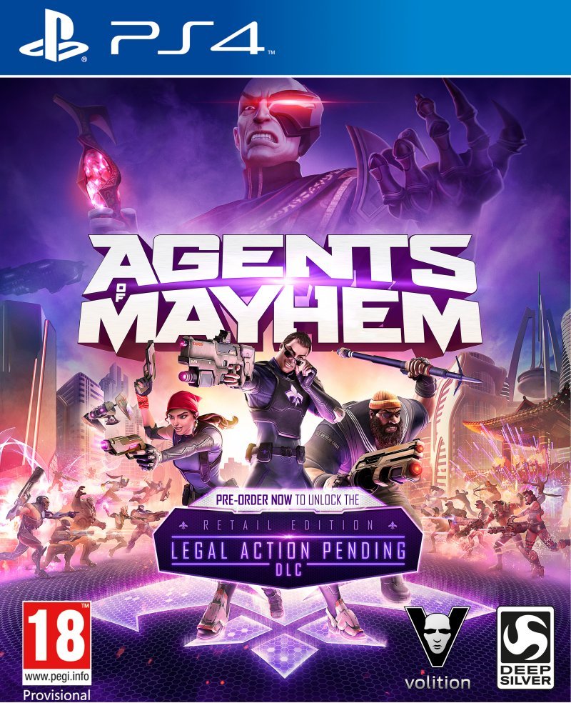 Image of   Agents Of Mayhem (day One Edition) - PS4
