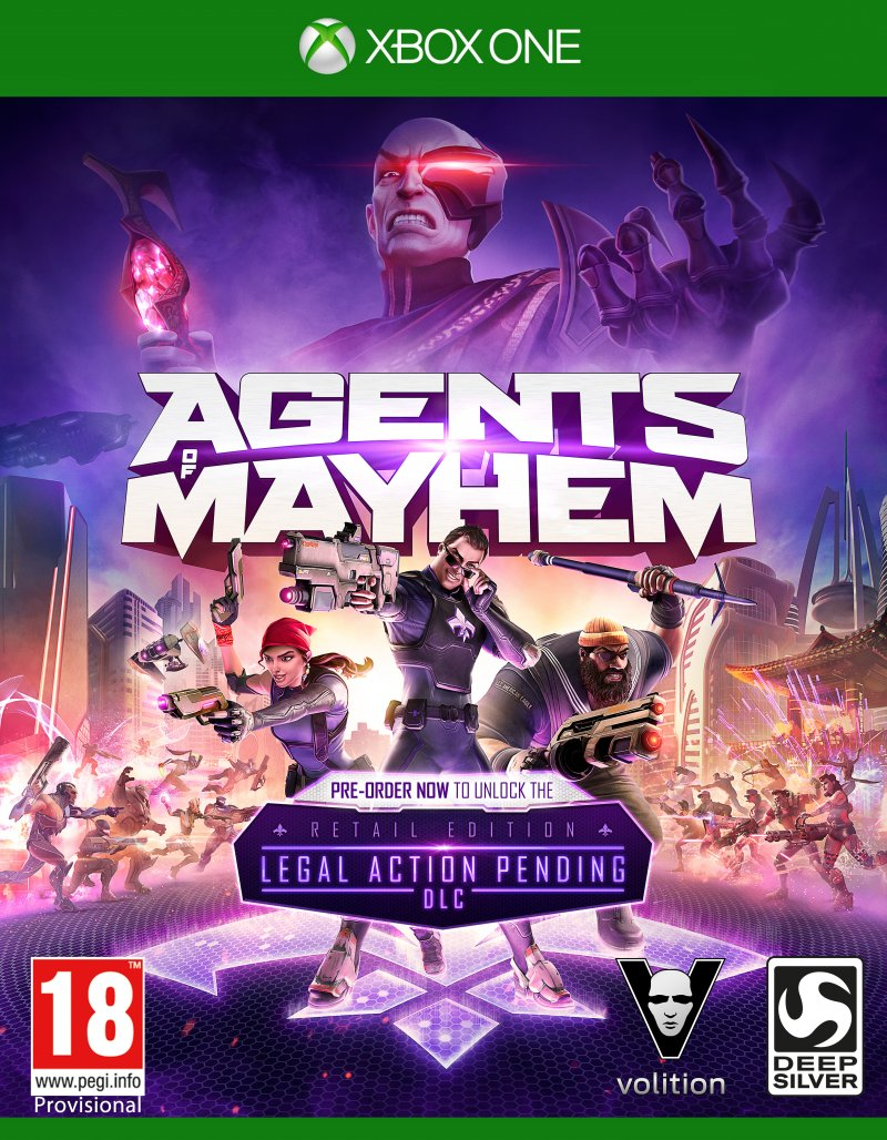 Image of   Agents Of Mayhem (day One Edition) - Xbox One