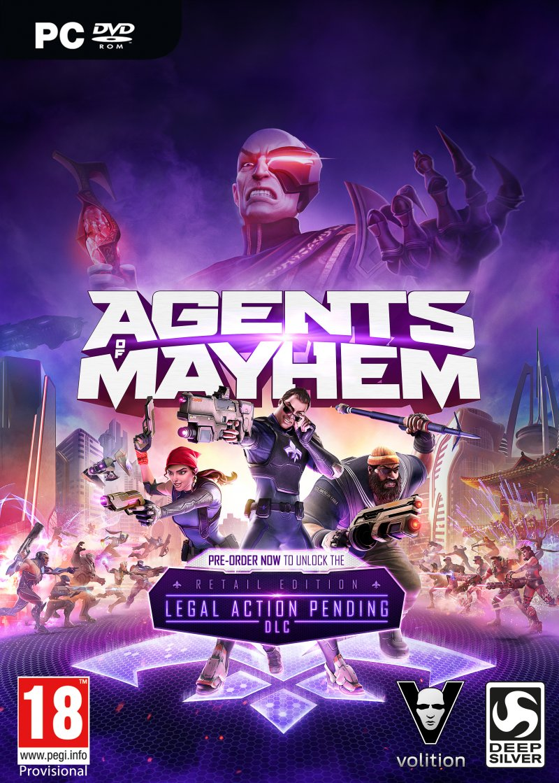 Image of   Agents Of Mayhem (day One Edition) - PC