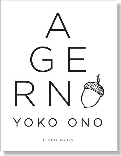Billede af Agern - Yoko Ono - Bog