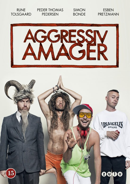Image of   Aggressiv Amager - DVD - Tv-serie