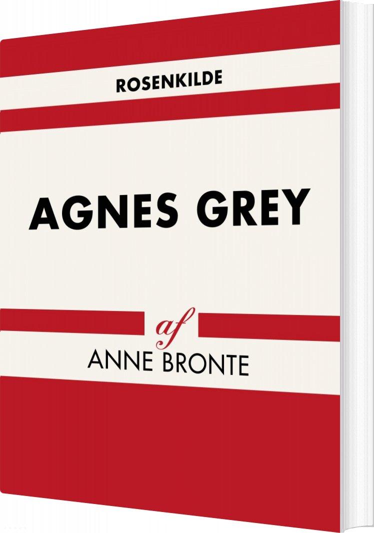 Billede af Agnes Grey - Anne Bronte - Bog