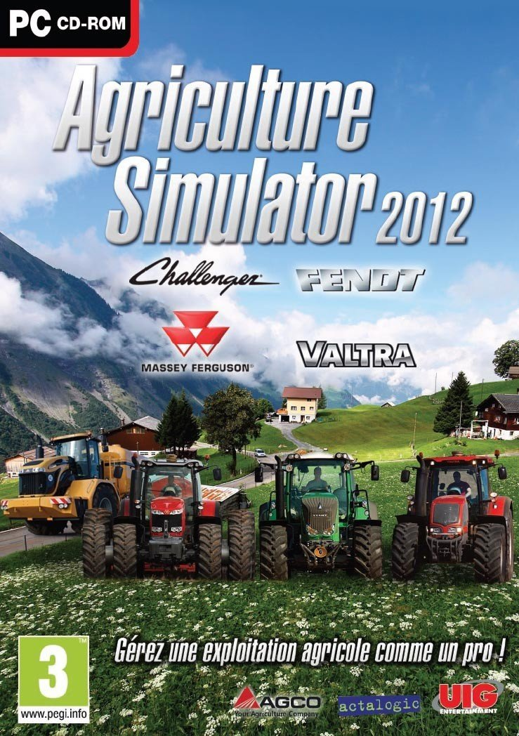 Image of   Agricultural Simulator 2012 - PC