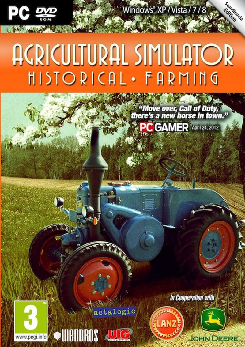 Image of   Agricultural Simulator - Historical Farming - PC