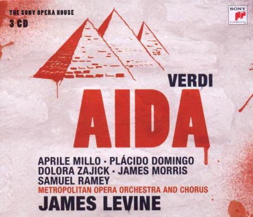 Image of   James Levine - Aida - CD