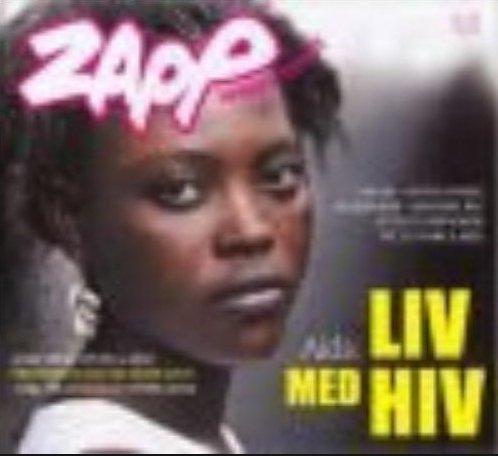 Image of   Aids: Liv Med Hiv - Zapp Nr. 5/2005 - Bog