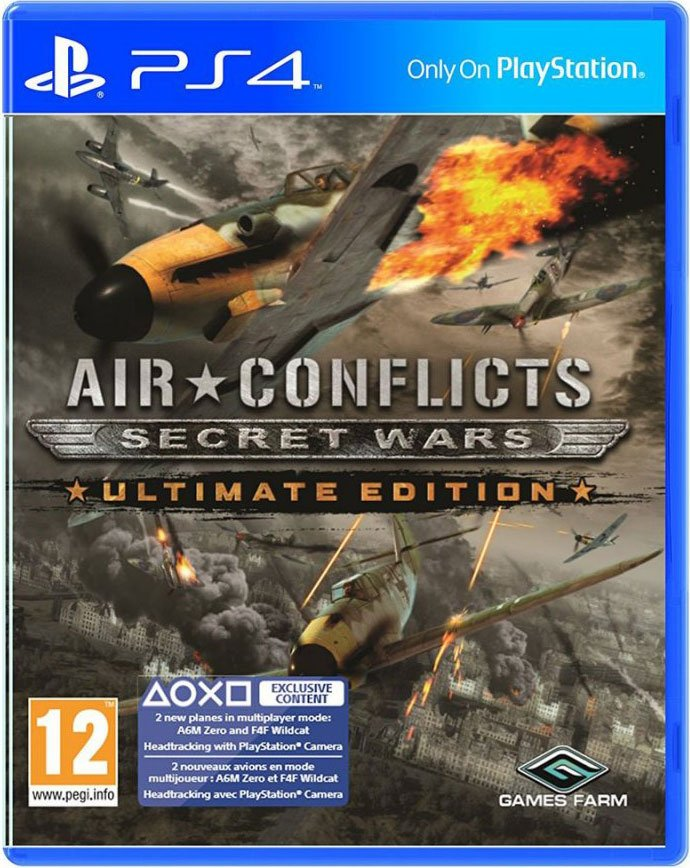 Image of   Air Conflicts: Secret Wars Ultimate Edition - PS4