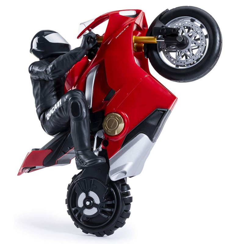 Image of   Air Hogs - Fjernstyret Selvbalancerende Stunt Motorcykel - Ducati Panigale