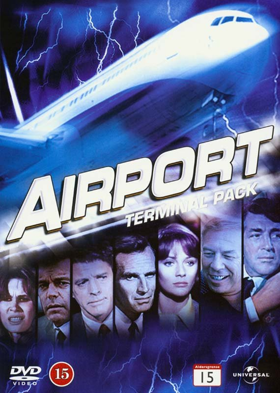Image of   Airport Terminal Pack Collection // Airport // Airport 1975 // Airport 77 // The Concorde - Airport 79 - DVD - Film