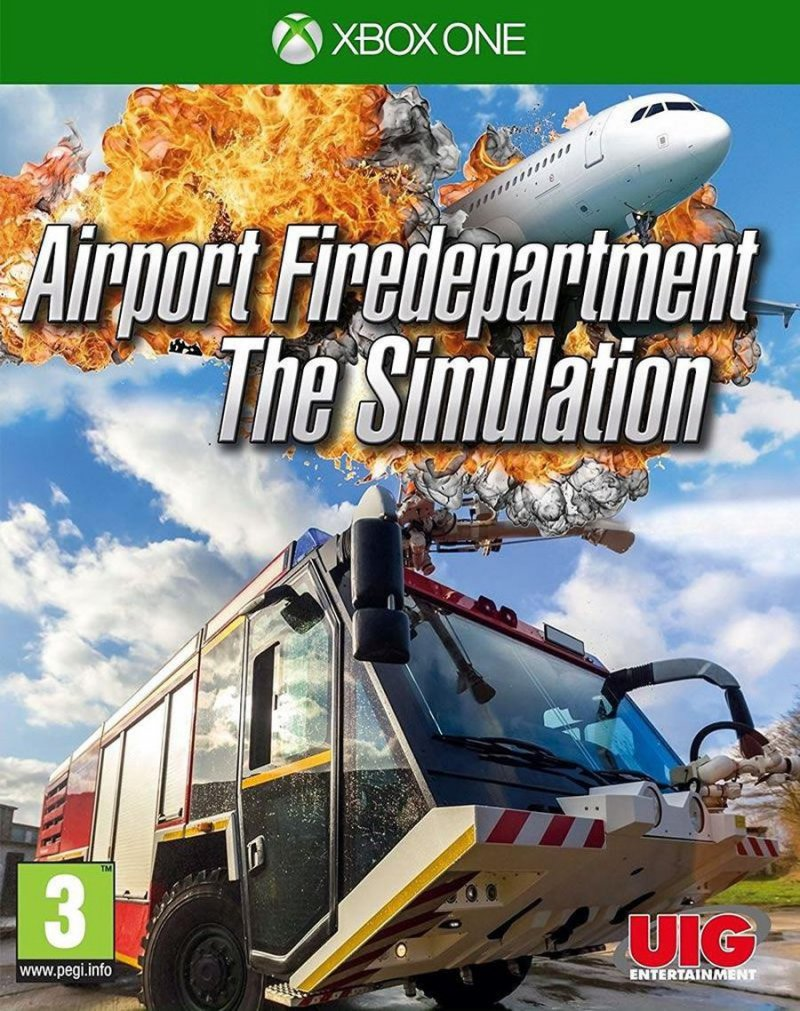 Billede af Airport Firedepartment The Simulation Xbox One Game - Xbox One