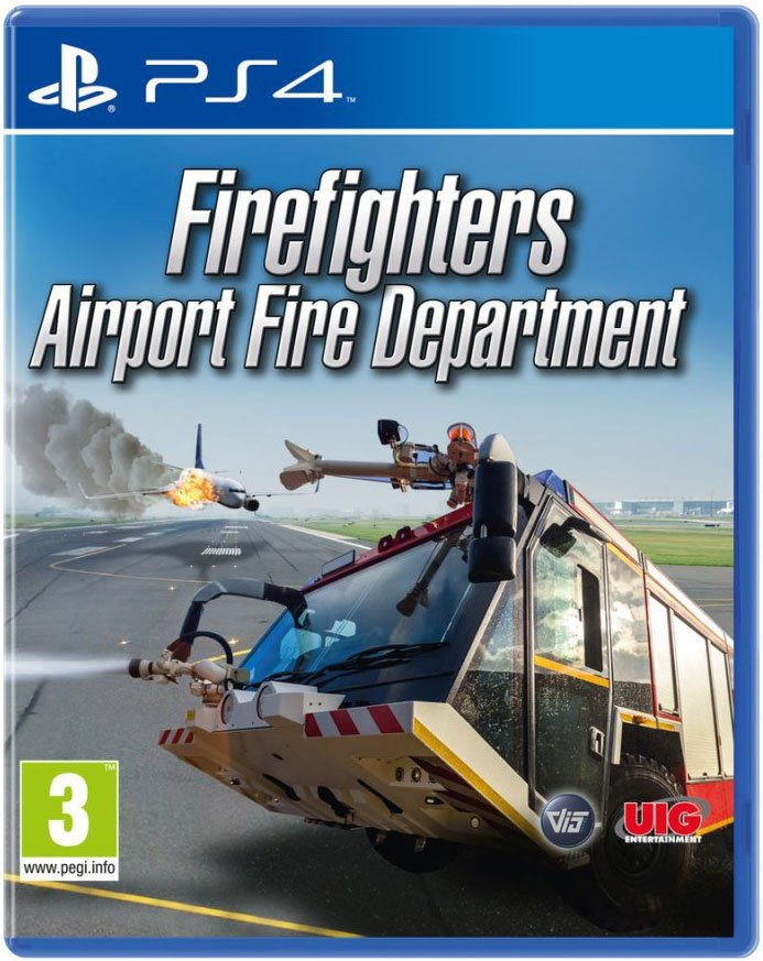 Billede af Airport Firefighters - The Simulation - PS4