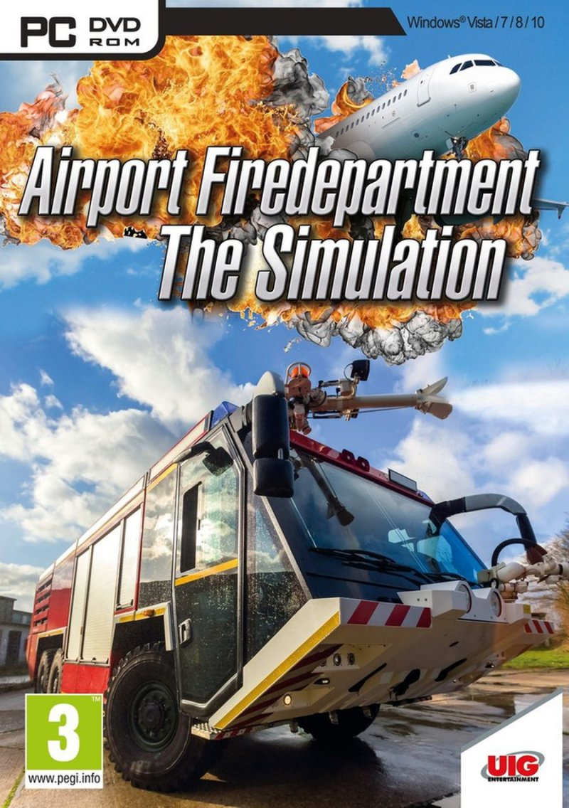 Image of   Airport Firefighters - The Simulation - PC