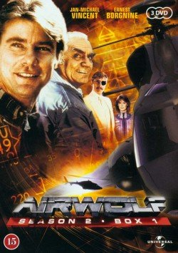 Image of   Airwolf - Sæson 2 - Boks 1 - DVD - Tv-serie