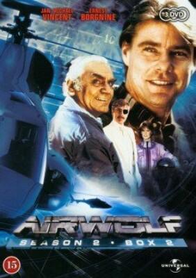 Image of   Airwolf - Sæson 2 - Boks 2 - DVD - Tv-serie