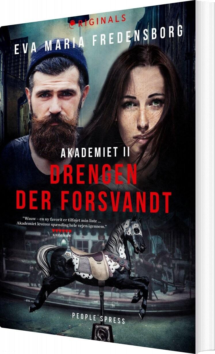 Image of   Akademiet 2 - Drengen Der Forsvandt - Eva Maria Fredensborg - Bog