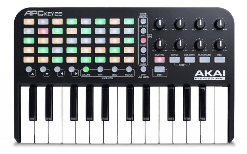 Image of   Akai Professional Apc Key 25 Keyboard Controller / Usb Midi Keyboard