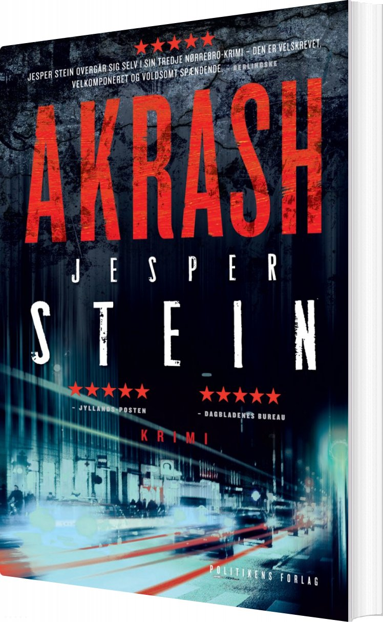 Image of   Akrash - Jesper Stein - Bog
