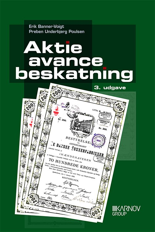 Billede af Aktieavancebeskatning - Preben Underbjerg Poulsen - Bog