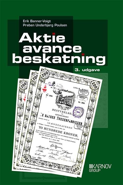 Image of   Aktieavancebeskatning - Erik Banner-voigt - Bog