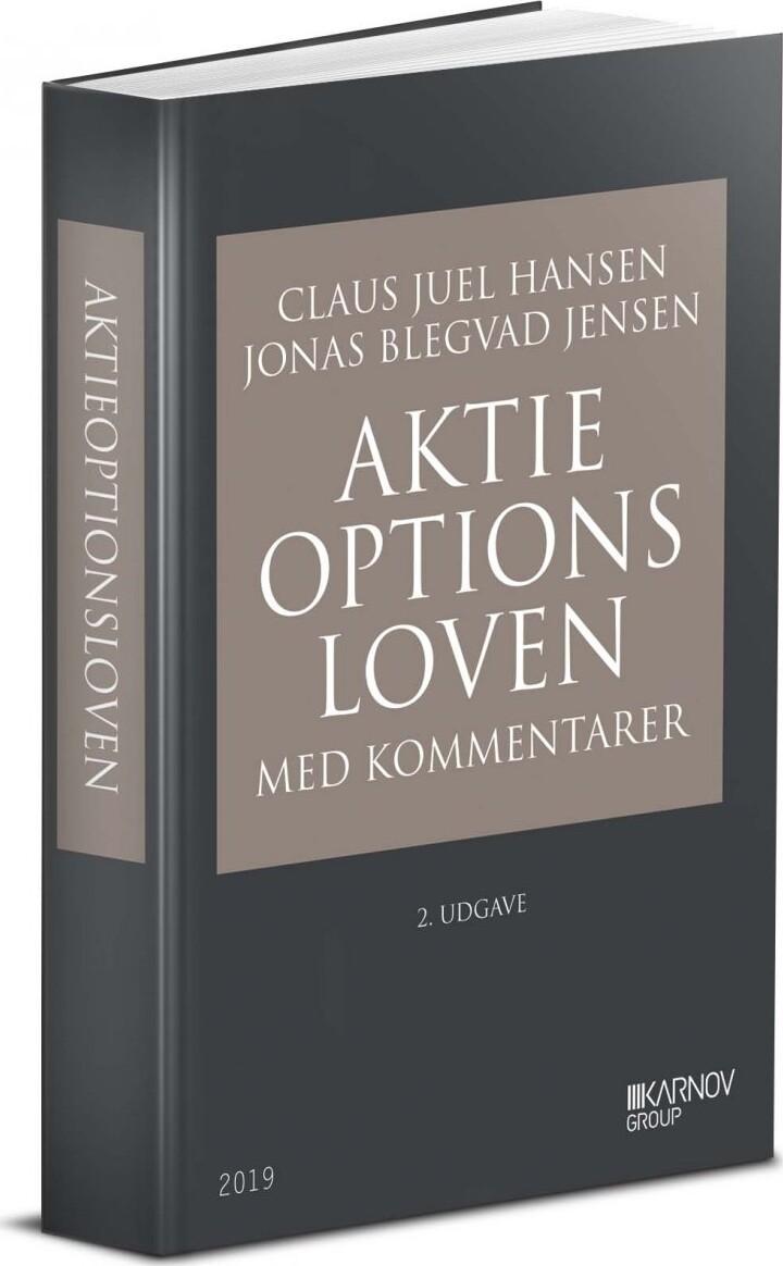 Image of   Aktieoptionsloven Med Kommentarer - Claus Juel Hansen - Bog