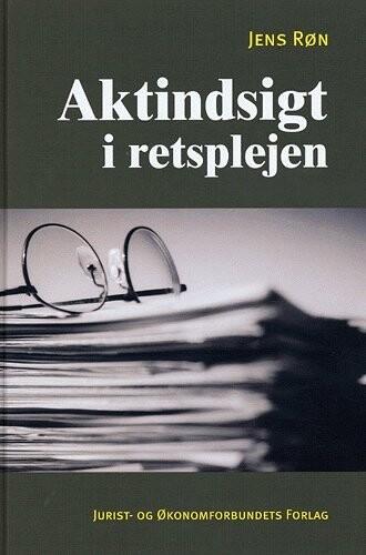Image of   Aktindsigt I Retsplejen - Røn J - Bog