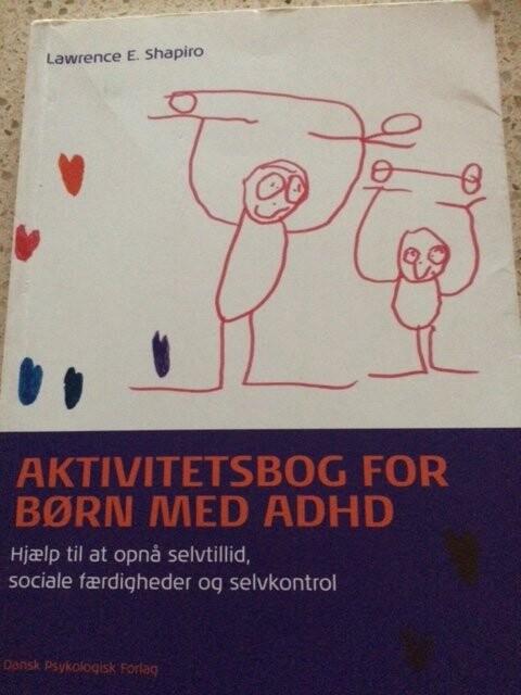 Image of   Aktivitetsbog For Børn Med Adhd - Lawrence E. Shapiro - Bog