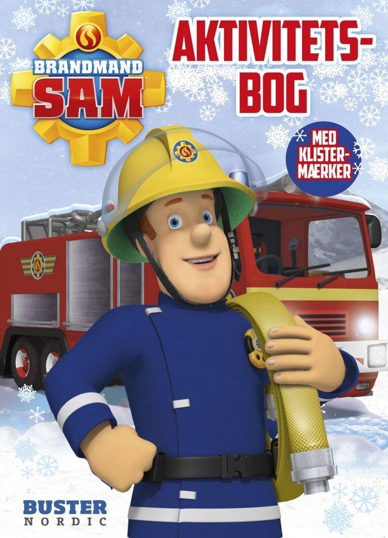 Image of   Aktivitetsbog Med Brandmand Sam - Buster Nordic - Bog