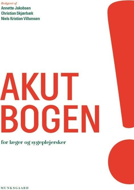 Image of   Akutbogen - Jacob Kjær Eskildsen - Bog
