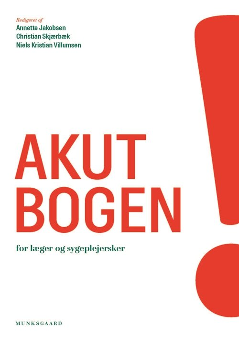 Akutbogen - Jacob Kjær Eskildsen - Bog