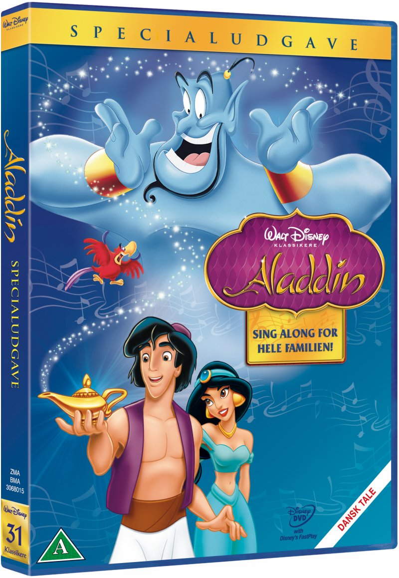 Image of   Aladdin - Special Edition - Disney - DVD - Film