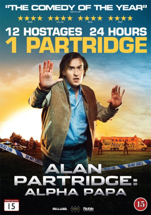 Image of   Alan Partridge: Alpha Papa - DVD - Film