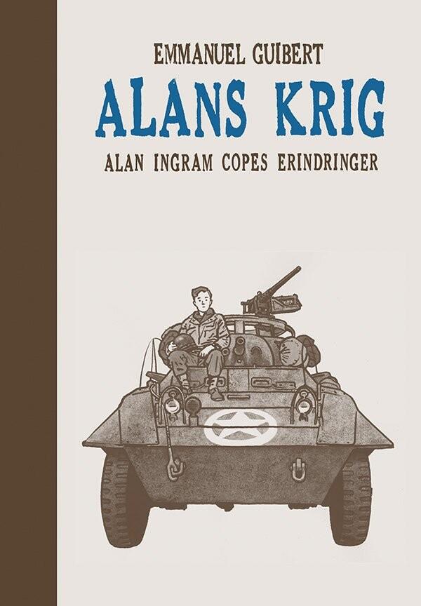 Image of   Alans Krig - Emmanuel Guibert - Tegneserie