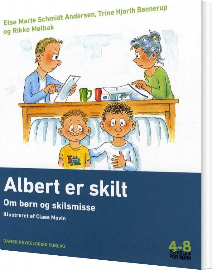 Image of   Albert Er Skilt - Rikke Mølbak - Bog