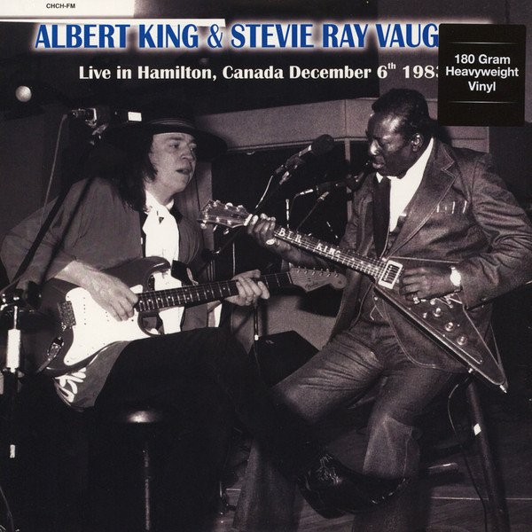 Image of   Albert King & Stevie Ray Vaughan - Chch Studios Hamilton Canada, December 6th 1983 - Vinyl / LP