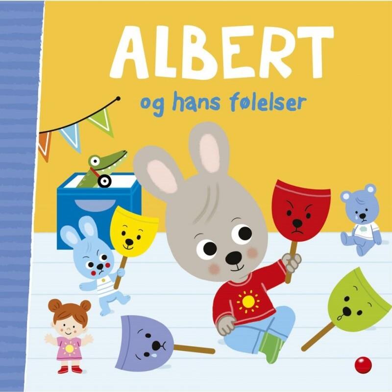 Image of   Albert Og Hans Følelser - Emmanuelle Massonaud - Bog