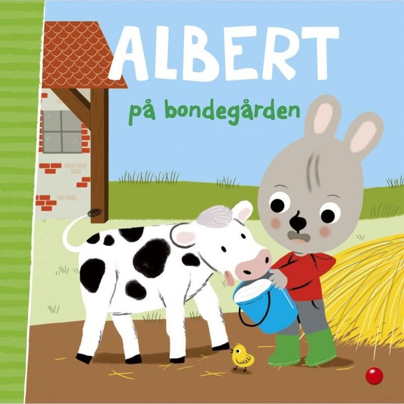 Image of   Albert På Bondegården - Emmanuelle Massonaud - Bog