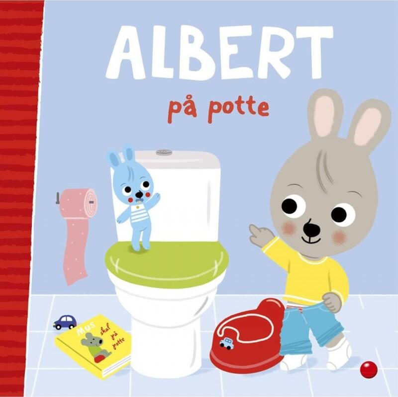 Image of   Albert På Potte - Fanny Bruun - Bog